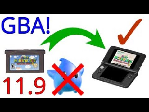 How to play gba games on 3ds homebrew