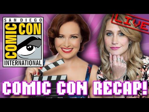 Comic Con 2014 recap with Maude & Alicia! (Geeks Unleashed Special)