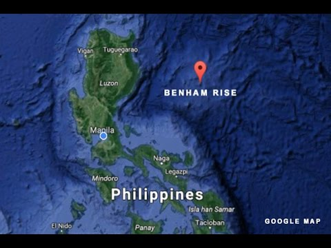 Malacañang alarmed by the presence of Chinese ships in Benham Rise