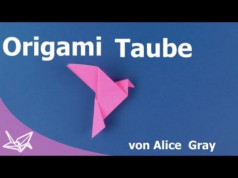 Origami Taube [Tutorial]