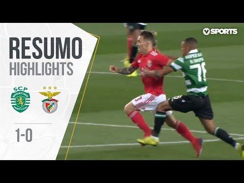 Highlights | Resumo: Sporting 1-0 Benfica (Taça de Portugal 18/19 1/2 Final)