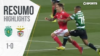 Highlights | Resumo: Sporting 1-0 Benfica (Taça de Portugal 18/19 1/2 Final)