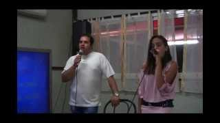 Karaoke: Fabio&Michela cantano