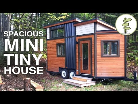 SMALLEST TINY HOUSE with All the Comforts of Home - Full Tour