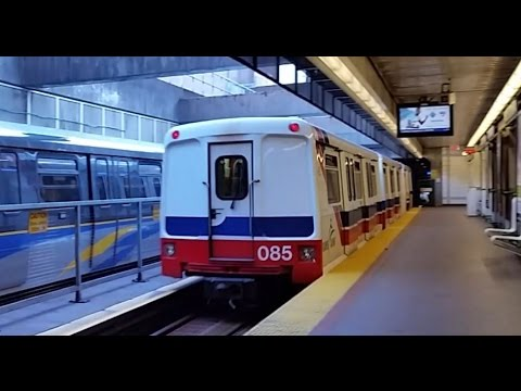 Vancouver Skytrain - Waterfront Stn to King George Stn