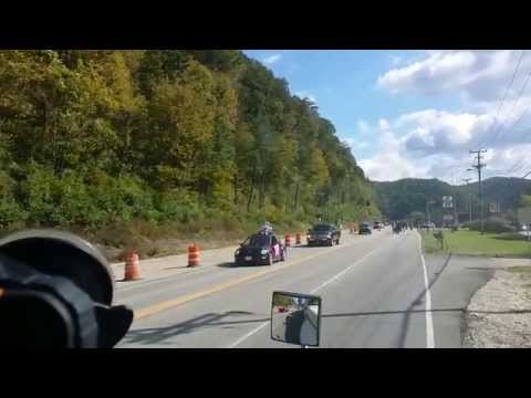Got Held Up For The Local Jackson Kentucky Fall Parade Oct 2014