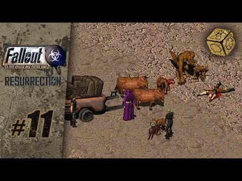 Caravan work? Yeah, right! - Let's Play Fallout 1.5: Resurrection #11