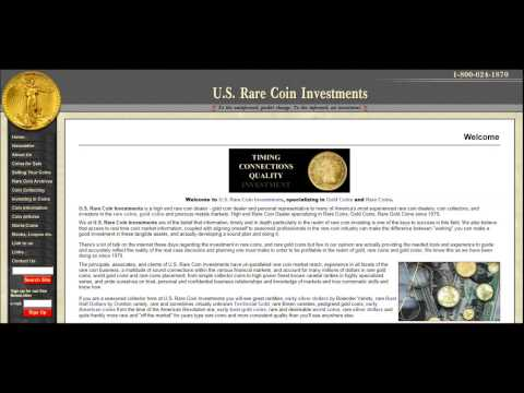 U.S. RARE COIN INVESTMENTS INTERVIEW 10/02/2008