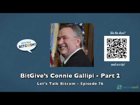 BitGive's Connie Gallipi - Part 2
