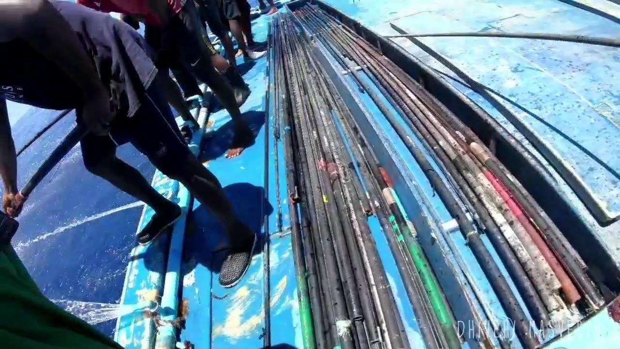 Latest video OF Onebyone poleandline Fishing in maldives