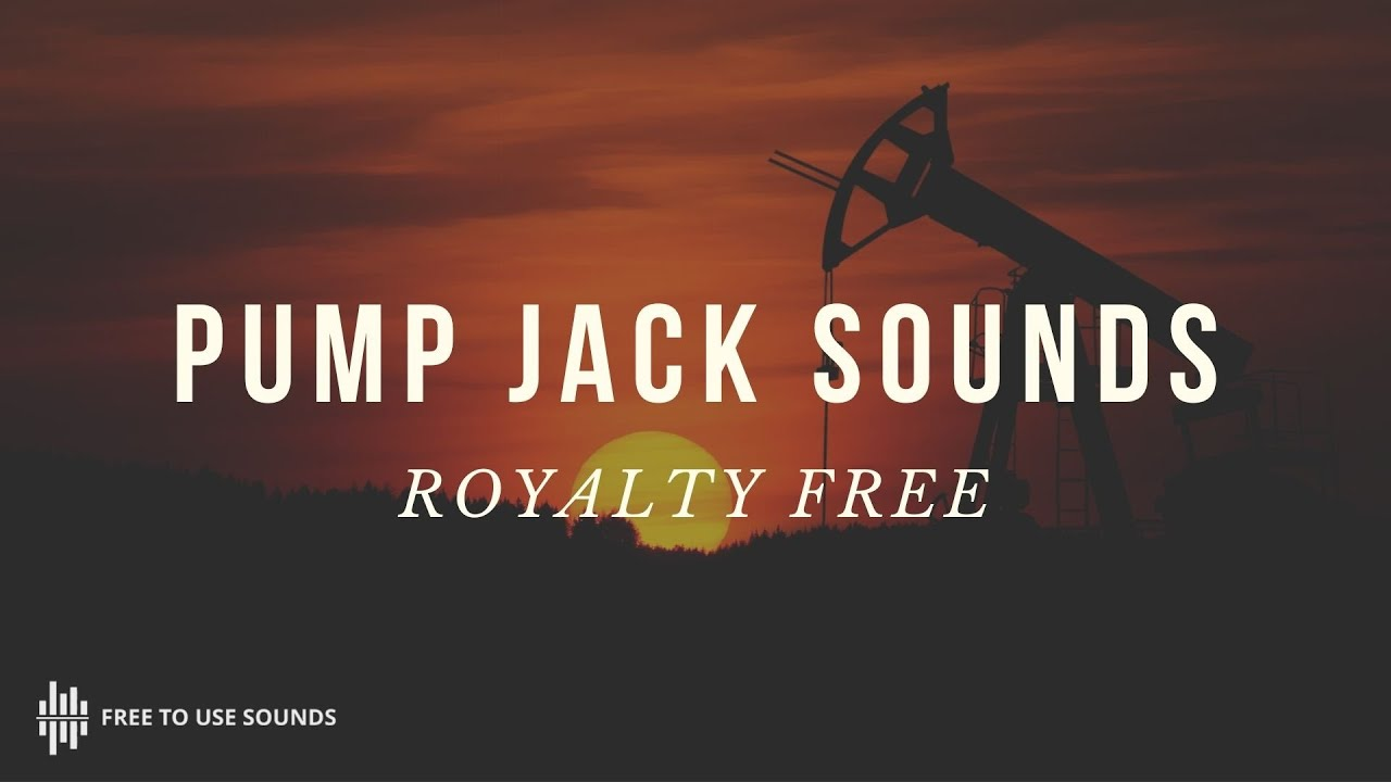 Pump Jack Sound Effect, California - Free To Use Sounds