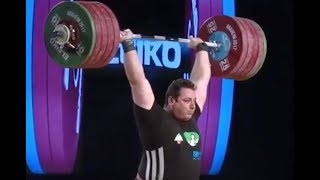 ALIHOSSEINI Saeid (+105kg) ATTEMPTS 203+251kg /2017 WEIGHTLIFTING WORLD CHAMPIONSHIPS