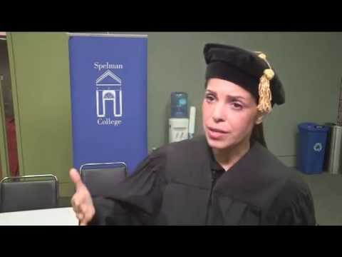 Spelman Commencement 2014 - Candid Interview with Soledad O