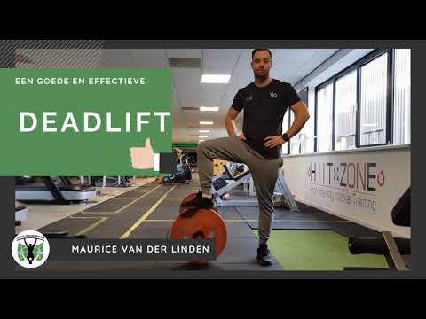 Hoe doe je een goede en effectieve deadlift?
