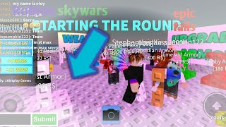 Roblox skywars epic fails