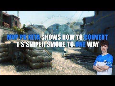 CS:GO - Convert Sniper Nest Smoke To One-Way (MVP PK xeta) thumbnail