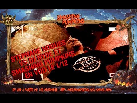 SMASHING PUMPKINS EN VOD LE 1er DECEMBRE - STEPHANE NOGUES VS DJ HYDE - TEASER 2