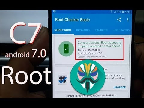 How to Root Samsung Galaxy C7 SM-C7000 (android 7 0)