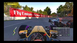 Dirty Drivers Everywhere! F1 2017 #8