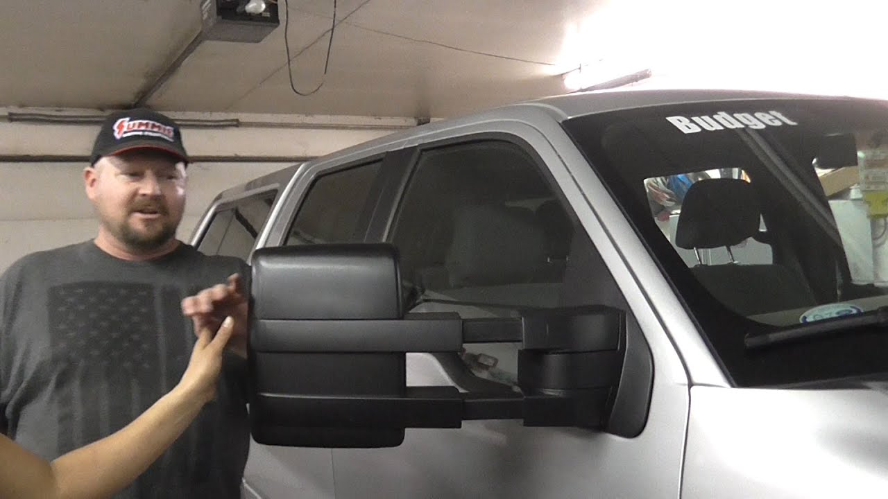 2007 2014 Ford F150 Towing Mirrors Youtube