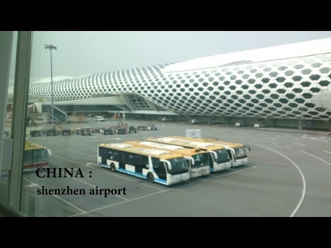 SHENZHEN AIRPORT - MEGAHNYA AIRPOT DI TIONGKOK CHINA