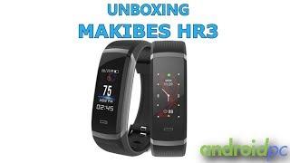 Unboxing: Makibes HR3 pulsera deportiva medidor cardio continuo