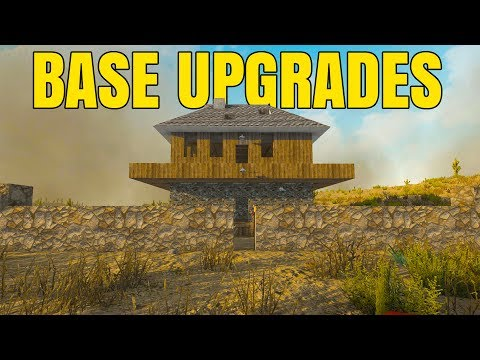 OUTER WALLS - BASE UPGRADES! - 7 Days to Die Alpha 16 Multiplayer Gameplay #33