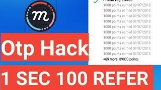 Mcent Browser Refer Script And 100000 Unlimited Trick With Live Proof by technical haro
