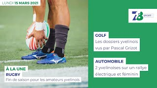 7/8 Sports. Edition du 15 mars 2021