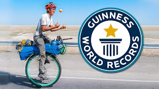 Why Guinness DIDN'T Give me a World Record for Unicycling 35,000km around the Earth
