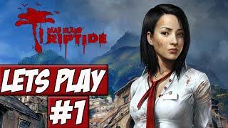 Lets Play Dead Island: Riptide Ep.1 w/Angel, Brett, Seth, & Jesper - Ain