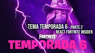 FORTNITE - SKIN VAQUEIRA - 2o TEASER DA TEMPORADA 6 REACT FORTNITE INSIDER