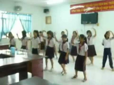 Mái trường nơi học bao điều hay- Trường THCS Lê Tấn Bê