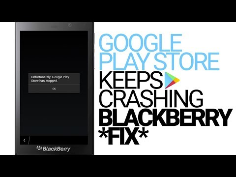 BlackBerry Error: