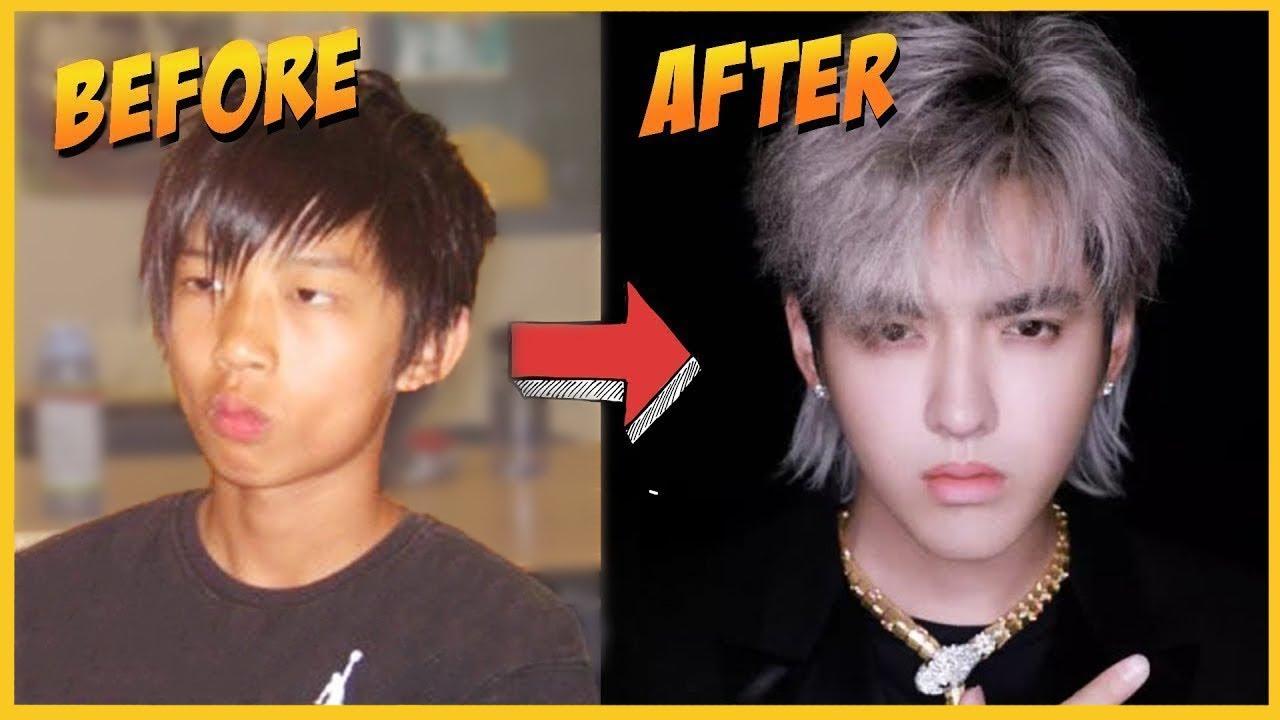 Becoming Kris Wu Kpop Hair And Makeup Transformation Youtube