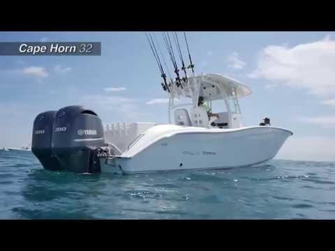 Florida Sportsman reviews the 32 Cape Horn Offshore Center Console
