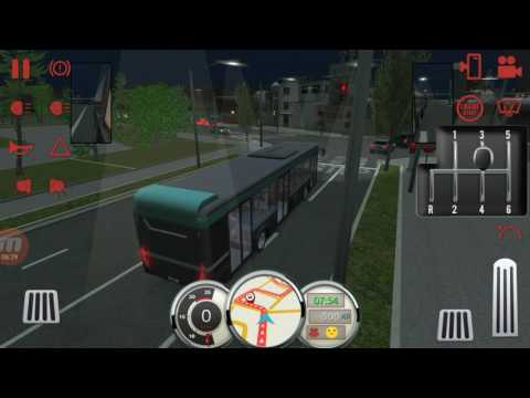 (real mode)Bus Simulator 17.Munchen industry level1&2