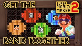 "Super Mario Maker 2 - Amazing ""Get The Band Together"" Level"