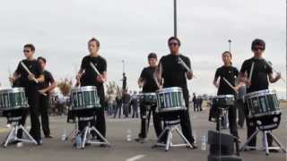 Chino Hills Drumline 2012: Double Beat