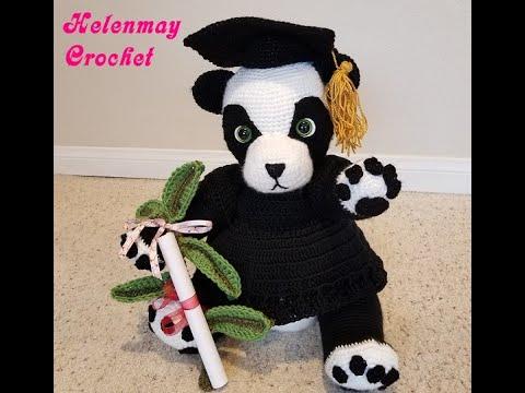 Amigurumi Pattern, Amigurumi panda pattern, Cute panda pattern ...   360x480