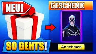 FORTNITE SKINS/ITMES GIFT to FRIENDS!! Skins in Fortnite Gift (that's how it goes)