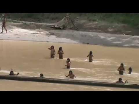 INCREÍBLE AVISTAMIENTO DE NATIVOS EN AISLAMIENTO VOLUNTARIO::¡¡¡ - MADRE DE DIOS - PERÚ - PARTE 02