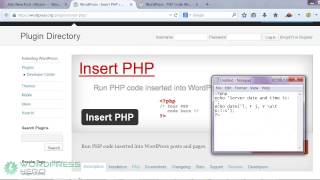 How to Add A PHP Code to your Wordpress Posts, Pages and Widgets