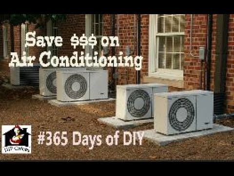 365 Days Of Diy Easy Free Task To Save On A C This Summer