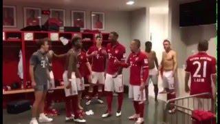 FC Bayern München-Running Man Challenge!!!WTF