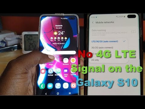 No 4G LTE Signal On The Galaxy S10 Fix