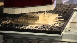 CNC Machine Demo - Anderson America Stratos Pro - Hand Rail