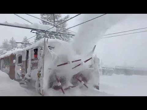 Zermatt: 13,000 stranded as high risk of avalanche threatens ski resort