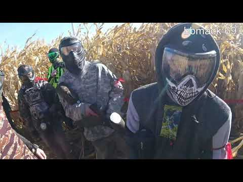 Paintball utah corn maze
