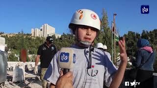 """50 مشاركا في معسكرات النخبة ضمن """"معسكرات الحسين"""" بعجلون - (2-7-2019)"""